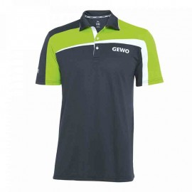 T-Shirt Gewo Teramo S18-1 Microfiber Gris et vert