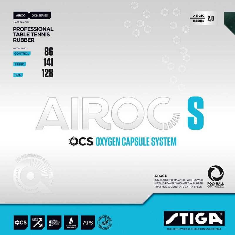 Revêtement de tennis de table Stiga Airoc S