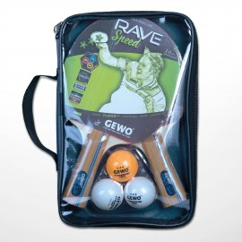 Pack Gewo 2 Raquettes Rave...