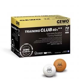 GEWO BOITE DE 72 BALLES ENTRAINEMENT CLUB 40+
